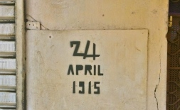 24. April 1915 - Stempelgraffiti