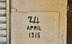 24. April 1915 - Stempelgraffiti